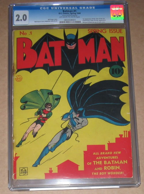 High Value Ebay Comics Auction For The Week Ending 2011 5 21 Batman 1 It S All Just Comics