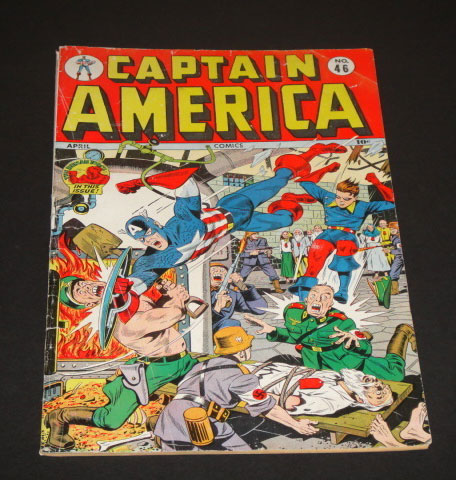 High Value Ebay Comics Auction For The Week Ending 2012 5 5 Captain America Comics 46 It S All Just Comics