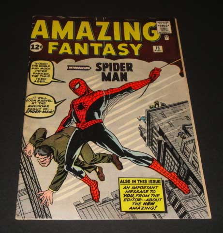 High Value Ebay Comics Auction For The Week Ending 2012 7 14 Amazing Fantasy 15 It S All Just Comics